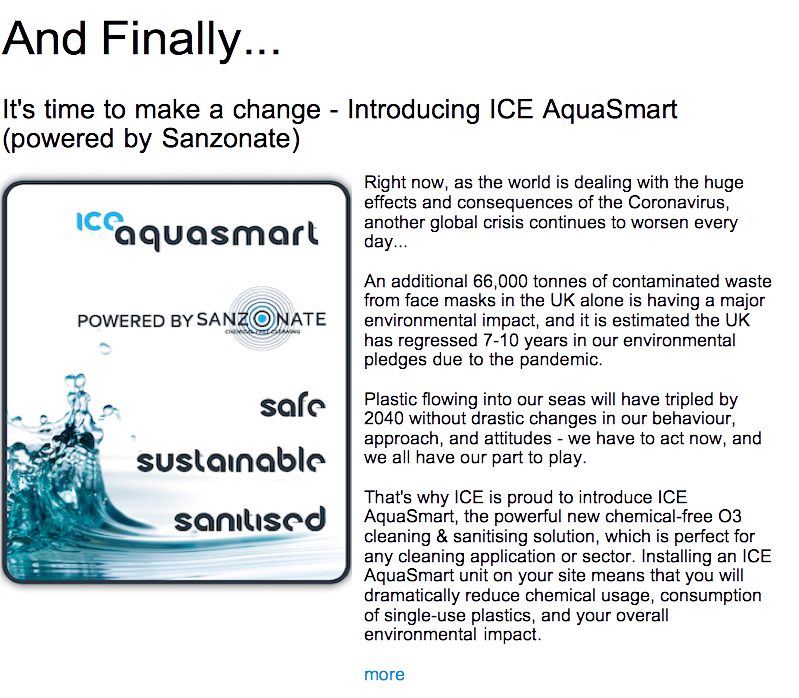 Advert: https://www.thecleanzine.com/pages/19748/its_time_to_make_a_change_introducing_ice_aquasmart_powered_by_sanzonate/