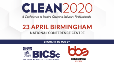 Advert: https://www.bics.org.uk/clean2020/