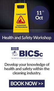 Advert: https://www.bics.org.uk/training/health-safety-workshop/?utm_source=Cleanzine%20Newsletter&utm_campaign=H%26S%2011%20October
