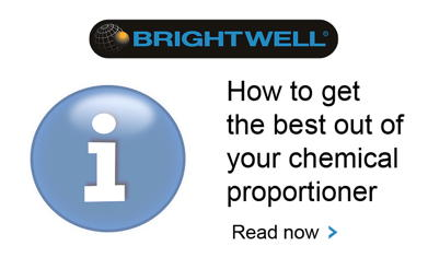 Advert: http://www.brightwell.co.uk/news/signs-that-your-chemical-proportioner-is-malfunctioning