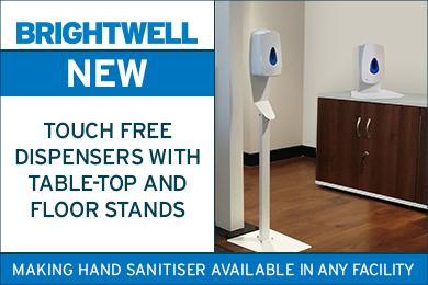 Advert: https://www.brightwell.co.uk/news/new-touch-free-dispenser