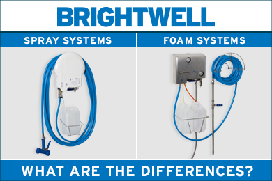Advert: https://www.brightwell.co.uk/news/difference-between-spray-and-foam