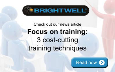 Advert: http://www.brightwell.co.uk/news/3-cost-cutting-training-techniques