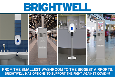 Advert: https://www.brightwell.co.uk/news/touch-free-solutions