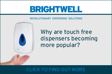 Advert: https://www.brightwell.co.uk/news/popularity-of-touch-free-products