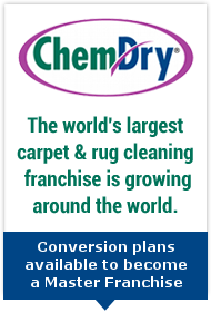 Advert: http://www.chemdryfranchise.com/international