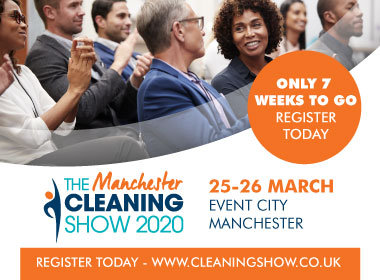 Advert: https://cleaningshow.co.uk/manchester/register-now?utm_source=MCS20+&utm_medium=Online&utm_content=Cleanzine&utm_campaign=Cleanzine+newsletter+banner+
