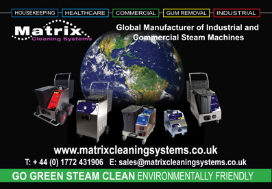 Advert: http://www.matrixcleaningsystems.co.uk/