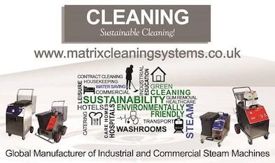 Advert: https://www.matrixcleaningsystems.co.uk/